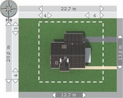 Projekt domu Orion-2
