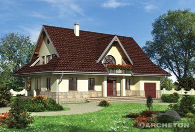 Projekt domu Orlik