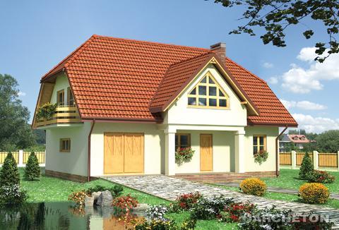 Projekt domu Ostrów