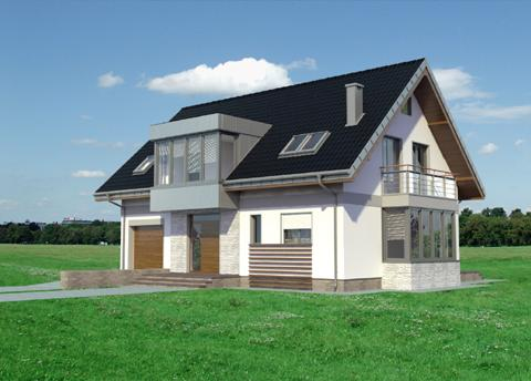 Projekt domu Pablo Kubik