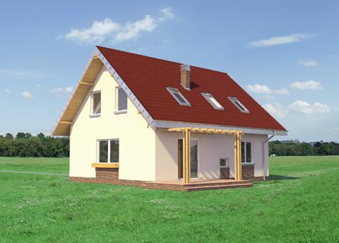 Projekt domu Pączek