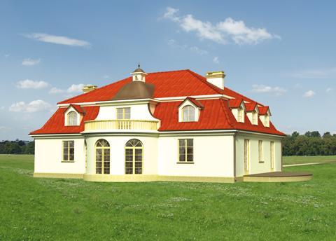 Projekt domu Pałacyk
