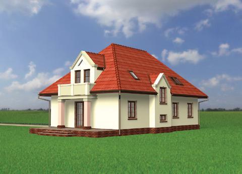 Projekt domu Pankracy