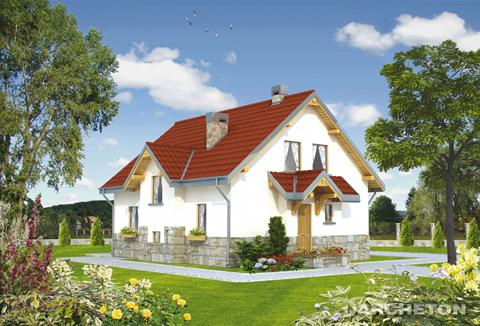 Projekt domu Pasieka