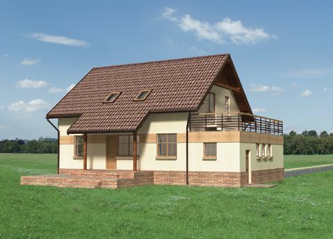 Projekt domu Pasikonik