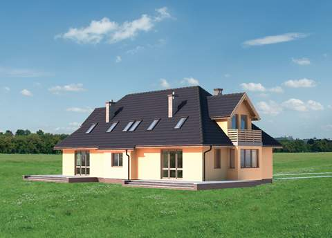 Projekt domu Paula