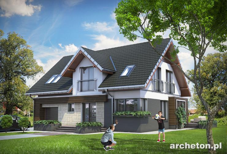 Projekt domu Pedro - nowoczesny projekt domu, idealny dla 4 osobowej rodziny