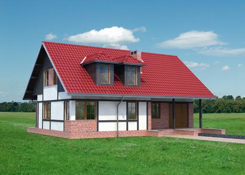 Projekt domu Perkoz