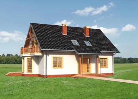 Projekt domu Petunia