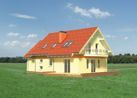 Projekt domu Pigwa