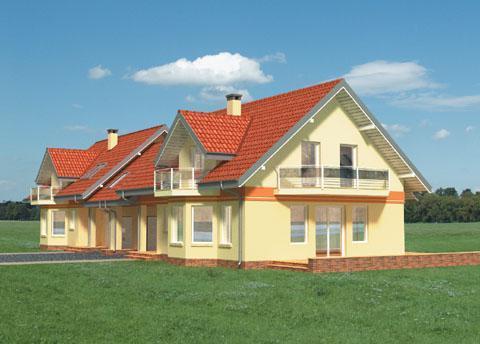 Projekt domu Pigwa Duo