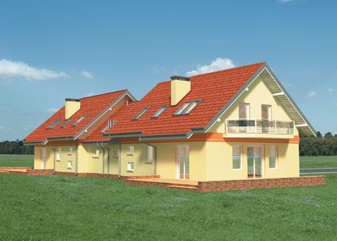 Projekt domu Pigwa Duolit