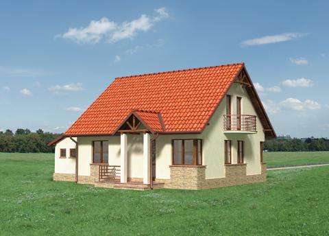 Projekt domu Pliszka