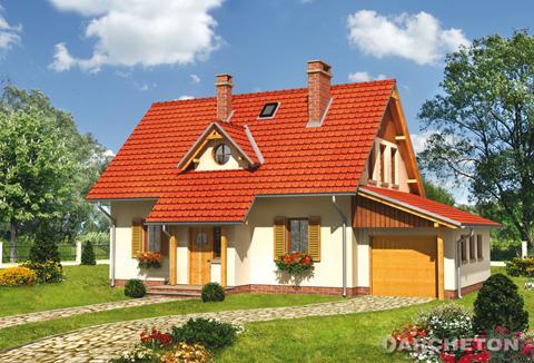 Projekt domu Płomyk