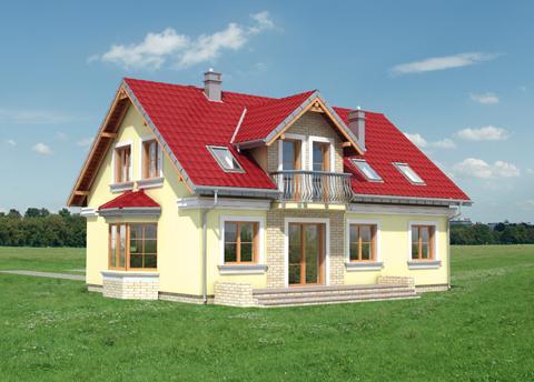 Projekt domu Pola Lux