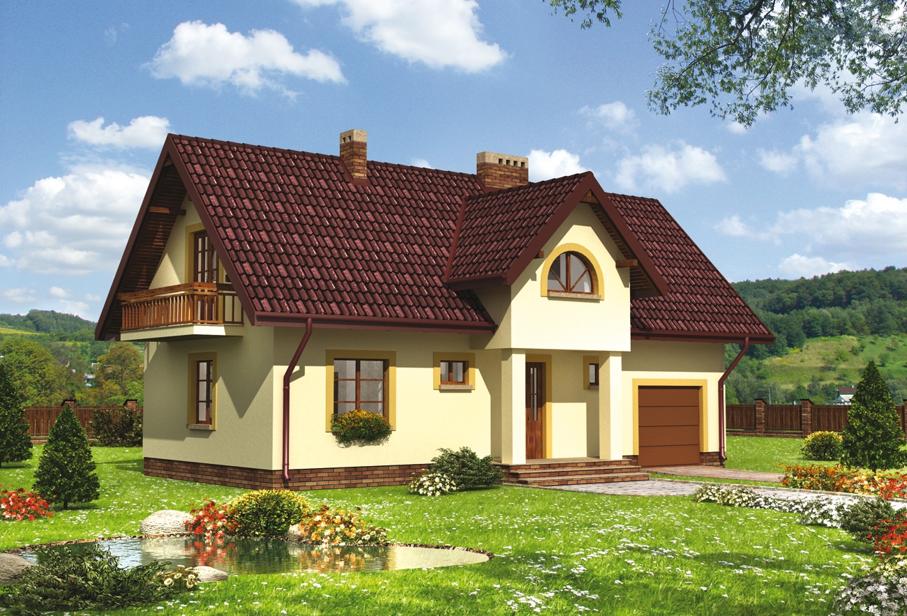 Проект 3х комнатного дома