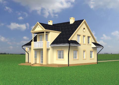 Projekt domu Porfirion