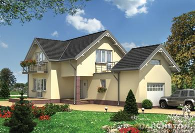 Projekt domu Potok