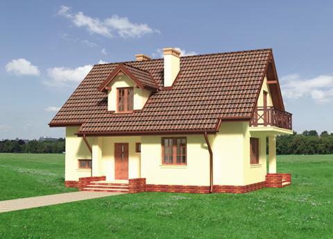 Проект домa Маковка Бета