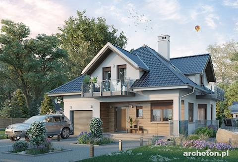 Projekt domu Prymus