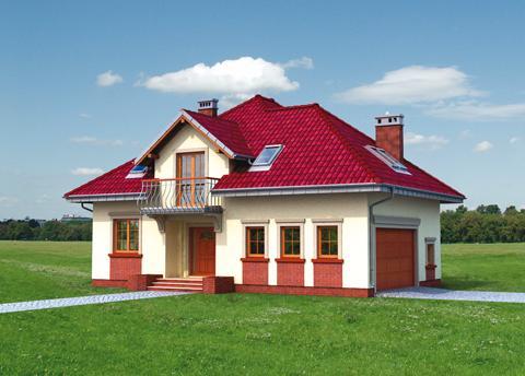 Projekt domu Prymus Lux G2