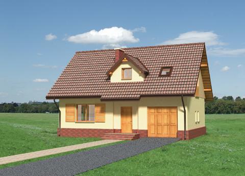 Projekt domu Ptyś