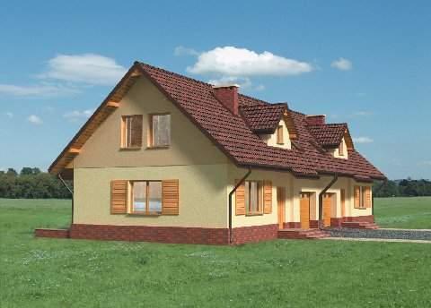 Projekt domu Ptyś Duo