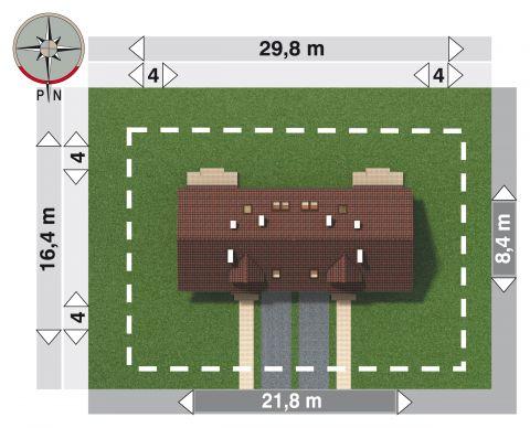 Projekt domu Ptyś Duolit