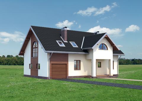 Projekt domu Rachela