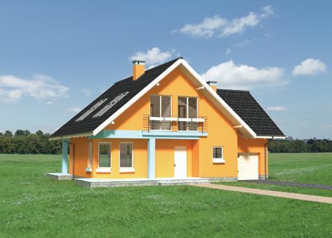 Projekt domu Radek