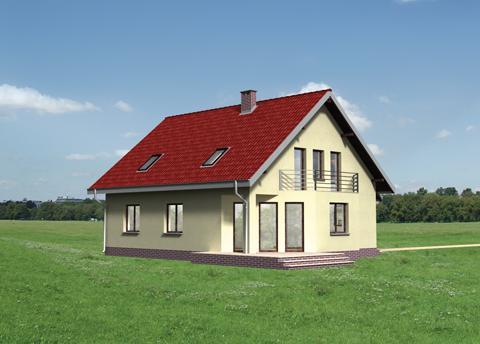 Projekt domu Rafał