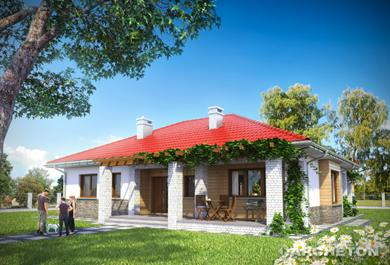 Projekt domu Regina