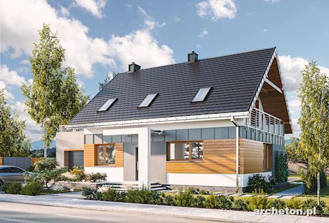 Projekt domu Renata
