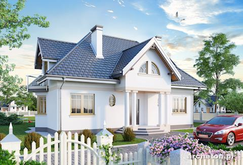 Projekt domu Rezeda