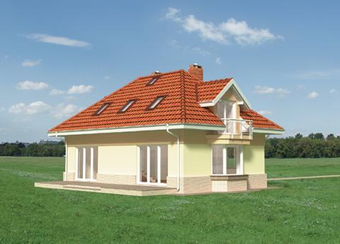 Projekt domu Roksana