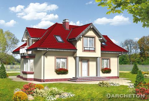 Projekt domu Roksana Rex
