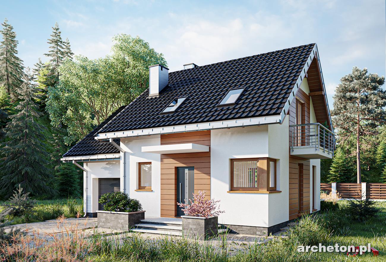 Projekt Domu Romek Wnętrza Archetonpl