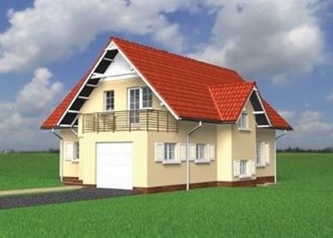 Projekt domu Rosomak