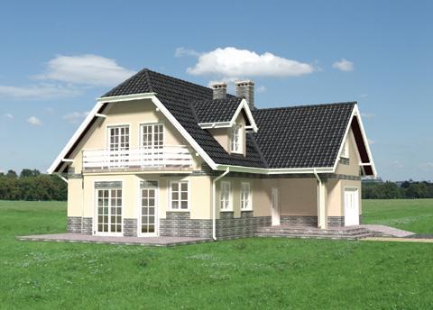 Projekt domu Rozalia