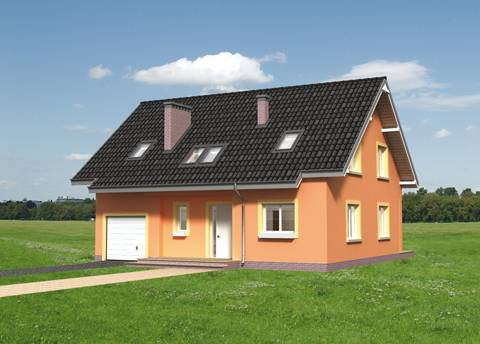 Projekt domu Rudzik