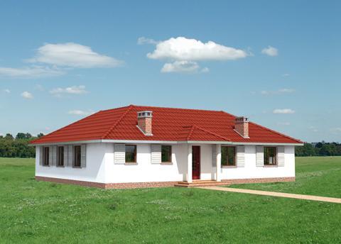 Projekt domu Rumianek