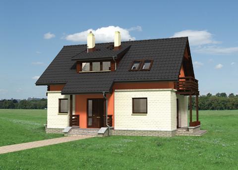 Projekt domu Ruta