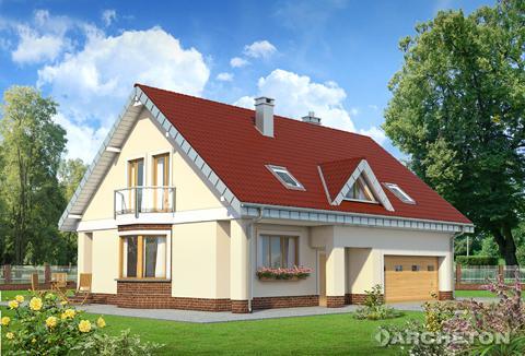 Projekt domu Saba