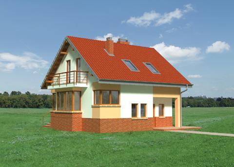 Projekt domu Sabina