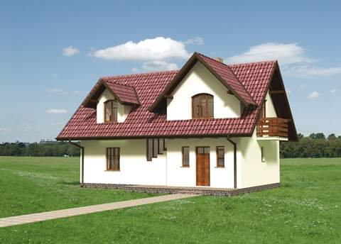 Projekt domu Sadyba