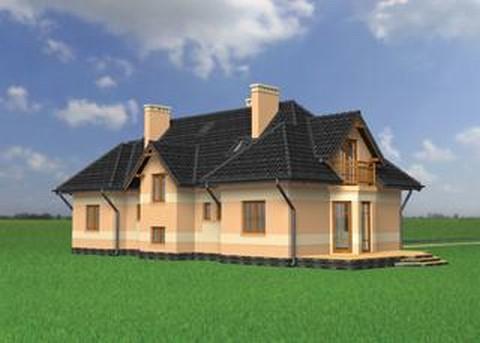 Projekt domu Salamandra