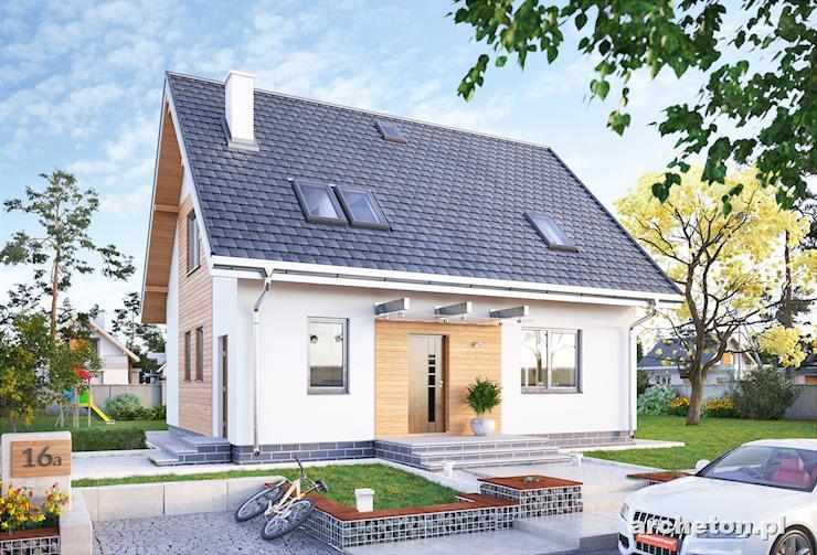 Projekt domu Sambor Eko - niewielki i funkcjonalny dom dla pięcioosobowej rodziny