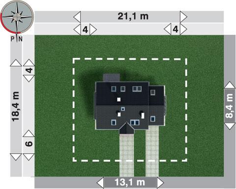 Projekt domu Sambor Mobil