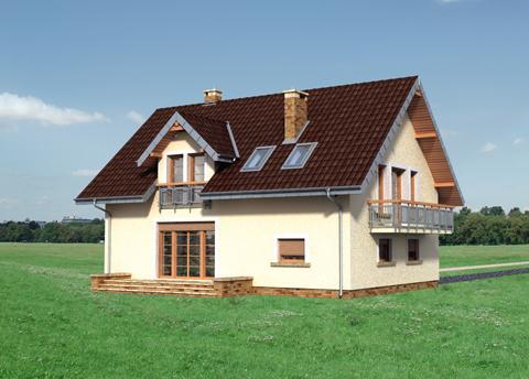 Projekt domu Sara