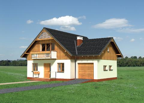 Projekt domu Sasanka